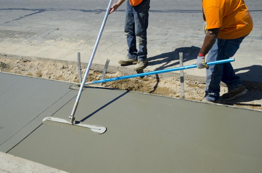concrete paths, pavers &walkways